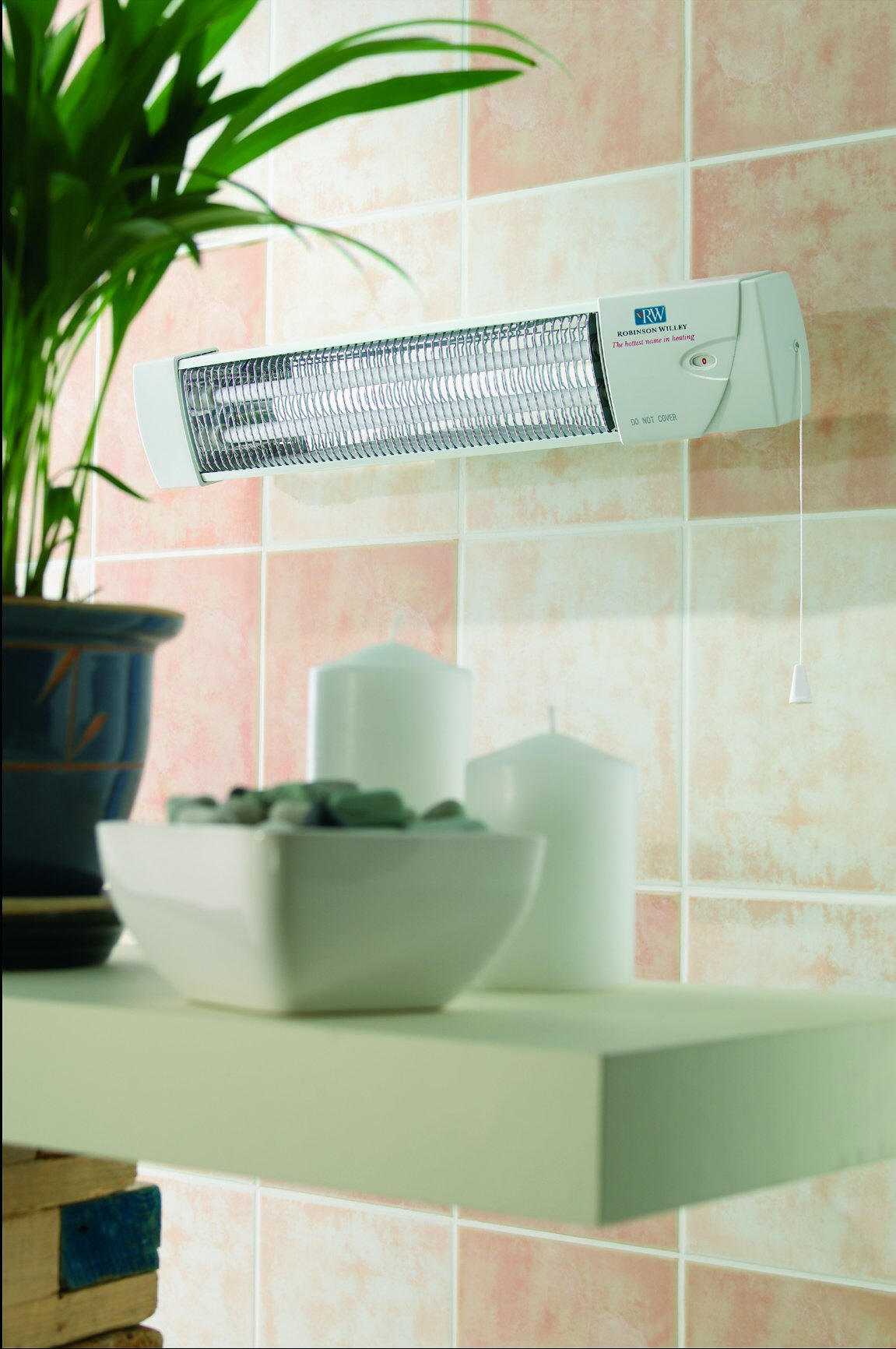 traditional infra red bathroom heaters